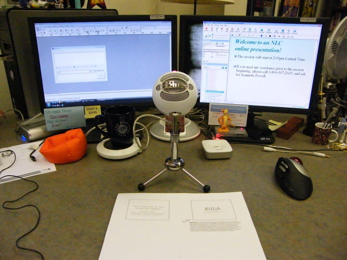 Presentation Setup for Online Talks